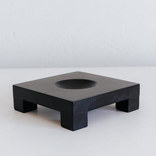 dark wood mova globe base