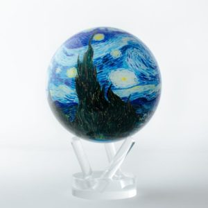 mova globe starry night