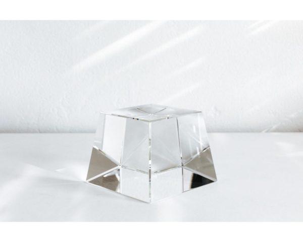 tall crystal mova globe base